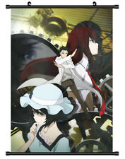 5186 Steins Gate Decor Poster Wall Scroll cosplay