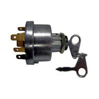 Ignition Key Switch fits Ford 2000 3000 3600 3610 4140 7610 E7NN11N501AB>