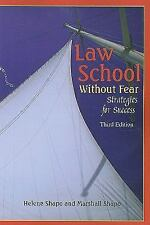 Career Guides: Law School Without Fear - Strategies for Success by Marshall S. S