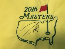 Danny Willett Signed 2016 Masters Champion Flag Augusta National Jsa Cert