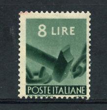 1945 - LOTTO/20623 - REPUBBLICA - 8 LIRE DEMOCRATICA - NUOVO