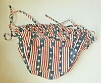 Longaberger ALL AMERICAN Stars Stripes Small Purse Liner NIP 2084270 New Unused