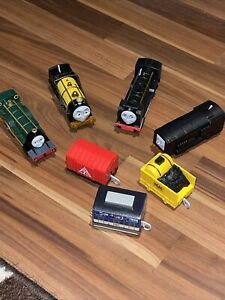 7-Thomas The Train & Friend's Trackmaster Lot-Trains Engines & Cars, Parts