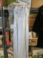 Davids Bridal light periwinkle blue formal bridesmaid dress size 2 Worn Once