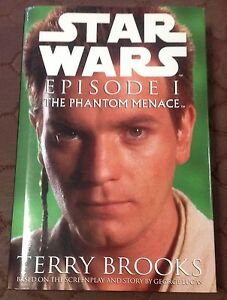 STAR WARS FICTION BOOK  EPISODE 1 THE PHANTOM MENACE GOOD PRE-OWNED BOOK