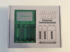 Chargeur de piles BATBOOSTOR pour accus et piles ORDINAIRES  alcalines