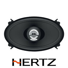 "HERTZ DIECI DCX460.3 4"" X 6"" 80W WATT 2 WAY COAXIAL CHEAP CAR SPEAKERS KIT"