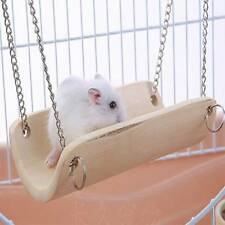 Pet Swing Pet Hammock Rat Bird Hamster Bamboo Hanging Toys Useful