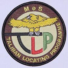 Aufnäher Patch ISAF Mazar-e-Sharif TLP Taliban Locating Progamme ........A2001K