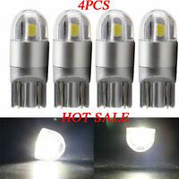 4x Osram T10 W5W 168 2 LED 6000K Car interior Reading Light 12V DC White Lamp UK