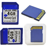 4GB Class 6 SDHC SD Secure Memory Card For Digital Camera Laptop PDA Camcorder