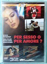 PER SESSO O PER AMORE? - DVD  n.02210 SIGILLATO