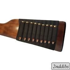 Riffle Buttstock Sleeve 9 Round Ammo Holder