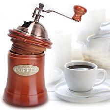 Manuelle Kaffeebohne Handschleifmaschine Schleifmaschine Hölzerne Burr-Mill