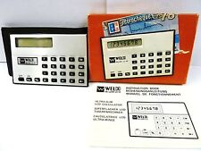VINTAGE WILCO LCD CREDIT CARD SUPER CALCULATOR NEW 1970S