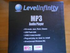 MP3 AUDIO PLAYER USB2.O DATA TRANSFER 1GB LEVEL INFINITY BRAND NEW