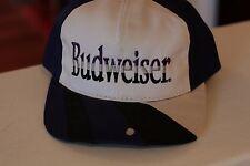 Rare Vintage Budweiser Beer Snapback Hat Cap - stain on bill
