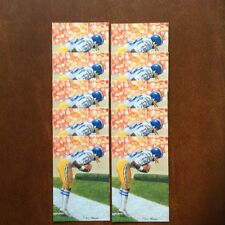 Charlie Joiner Chargers Lot of 10 unsigned Goal Line Art Cards