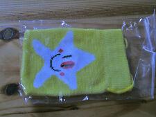 Handysocke, Handy-Socke gelb mit Stern weiß neu Geschenk?