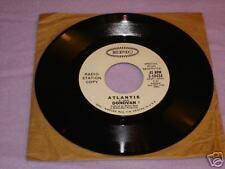 DONOVAN ATLANTIS ORIGINAL 45rpm  Radio Station Copy