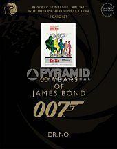 [ATP] 007 50 ANNI DI JAMES BOND LOCANDINA + FOTOBUSTE DR.NO