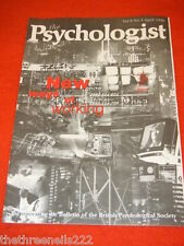 THE PSYCHOLOGIST - NEW WAYS OF WORKING - APRIL 1996
