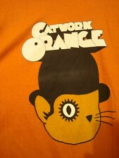 A ClockWork Orange Parody Cat t shirt sz L