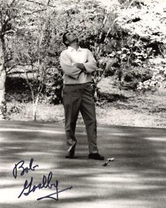 BOB GOALBY SIGNED AUTOGRAPHED 8x10 PHOTO CELEBRATED MASTERS LEGEND BECKETT BAS