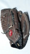 RAWLINGS RS120 12Inch RENEGADE Leather Glove Fits right hand thrower