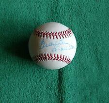 BUDDY BELL autographed official Major League baseball