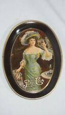 "Pepsi Cola Fabcraft 6"" Tin Tip Tray - Victorian Style"