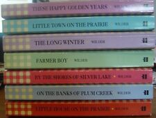 Lot 7 Laura Ingalls Wilder Little House Series Numbers 2 through 8 Unread