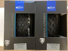 Pair Schwalbe 29 X 2.35 Fat Albert Evolution Folding Tyres