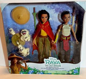 Disney's Raya And The Last Dragon RAYA,NAMAARI & ONGIS PACK