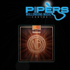 D'Addario NB1047 10-47 Nickel Bronze Extra Light Acoustic Guitar Strings NYXL