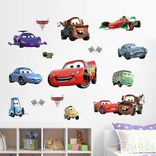 XXL Aufkleber Wandsticker Cars Kinderzimmer Auto McQueen Wandtatoo 45x60