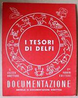 Documentazione - I tesori di Delfi - ottobre 1957