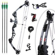 Core Archery - Kit Arc à poulies Zeal Noire (RH) - Allonge et Puissance réglable