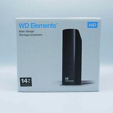 Western Digital WD Elements 14TB ( WDBWLG0140HBK-EESN ) externe Festplatte NEU