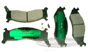 Disc Brake Pad Set-Ceramic Pads Front Tru Star CBP524