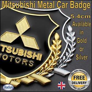 Mitsubishi Car Metal Badge Emblem Decal Styling Sticker Boot or side panel logo
