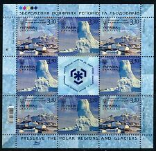 2009. Ukraine. Preserve the Polar Regions. Sheet/Pane