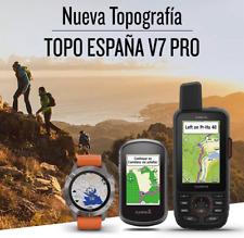 ORIGINAL Mapa Garmin TOPO España V7 PRO Spain 2020 (incluye guía) +200 VENDIDOS!