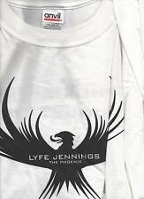 Lyfe Jennings The Phoenix Promo White T-Shirt Size Xl