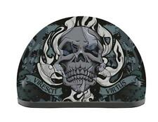 Wicked Skull Half 1/2 Helmet with Visor XS Extra Small by Kali DOT Harley Bobber