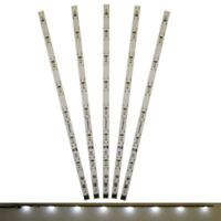 S671 - 5 Stück LED Innenbeleuchtung 230mm weiß Waggonbeleuchtung für Waggons