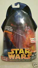 HOLOGRAPHIC EMPEROR TOYS R US EXCLUSIVE Star Wars Revenge of the Sith In Oz