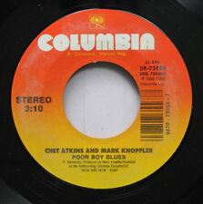 Country 45 Chet Akins And Mark Knopfler - Poor Boy Blues / So Soft, Your Goodbye