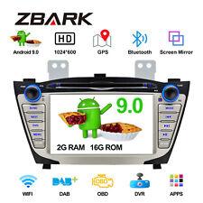 Android 9.0 Car GPS Navigation CD DVD Radio Stereo BT5.0 For Hyundai IX35/Tucson