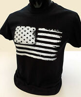 Grunge USA Flag T-Shirt S-2XL Mens American retro distressed stars stripes